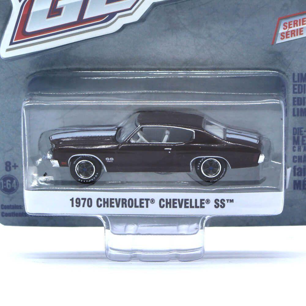 Miniatura Chevrolet Chevelle SS 1970 GL Muscle Serie 19 1/64 Greenlight