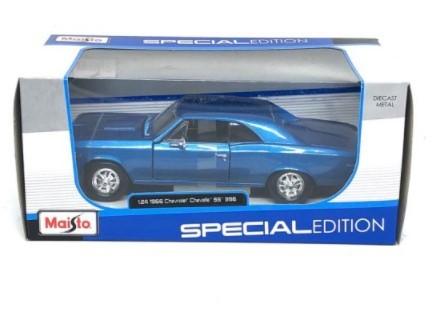 Miniatura Chevrolet Chevelle SS 396 1966 1/24 Maisto