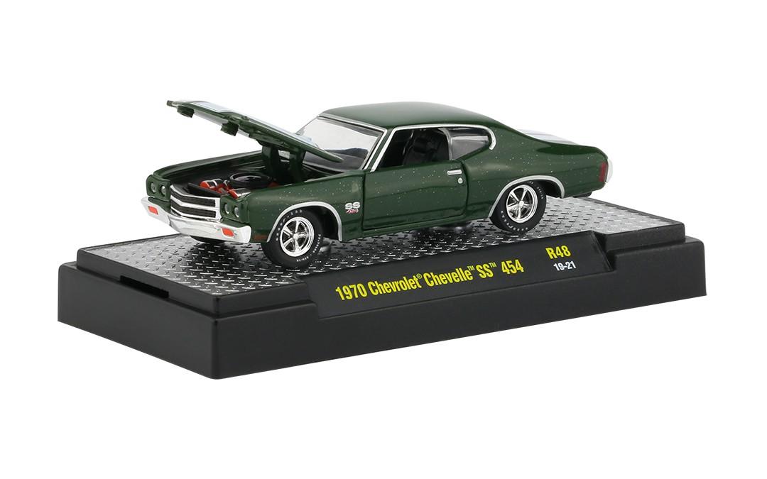 Miniatura Chevrolet Chevelle SS 454 1970 1/64 M2