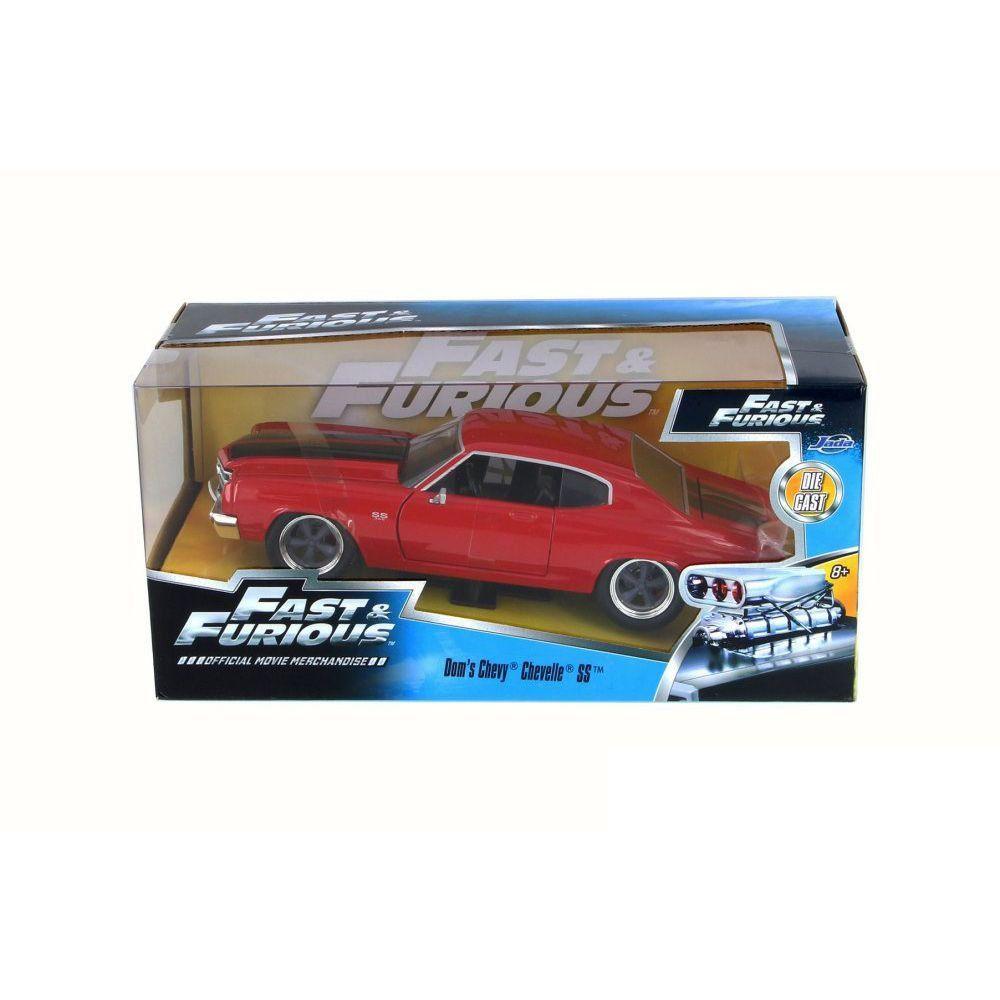 Miniatura Chevrolet Chevelle SS Toretto Velozes e Furiosos 4 1/24 Jada