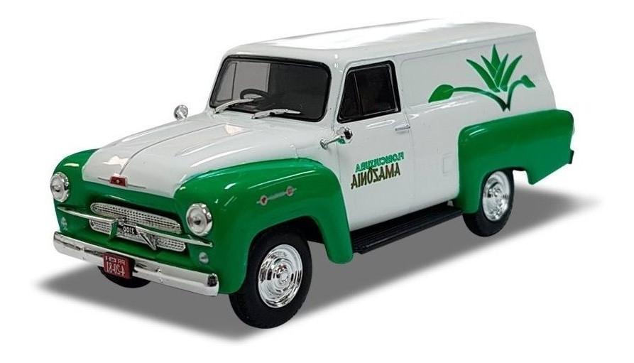 Miniatura Chevrolet Corisco Furgão Floricultura 1/43 Salvat