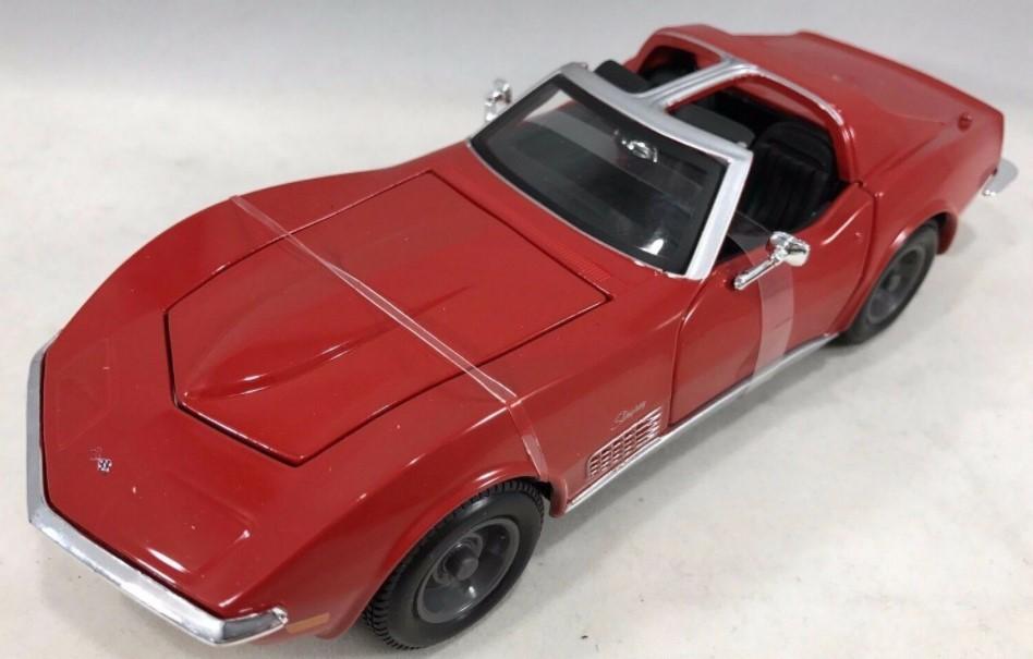 Miniatura Chevrolet Corvette 1970 1/24 Maisto