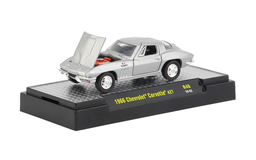 Miniatura Chevrolet Corvette 427 1966 1/64 M2