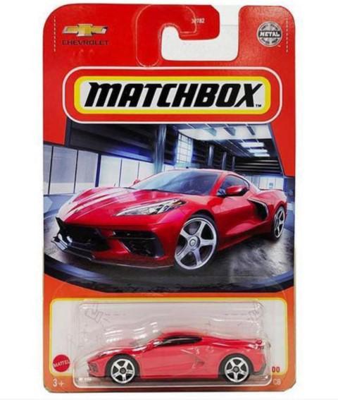 Miniatura Chevrolet Corvette C8 2020 1/64 Matchbox