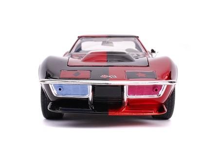 Miniatura Chevrolet Corvette Stingray 1969 Alerquina com Boneco 1/24 Jada Toys