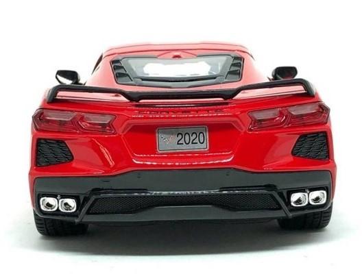 Miniatura Chevrolet Corvette Stingray 2020 1/18 Maisto