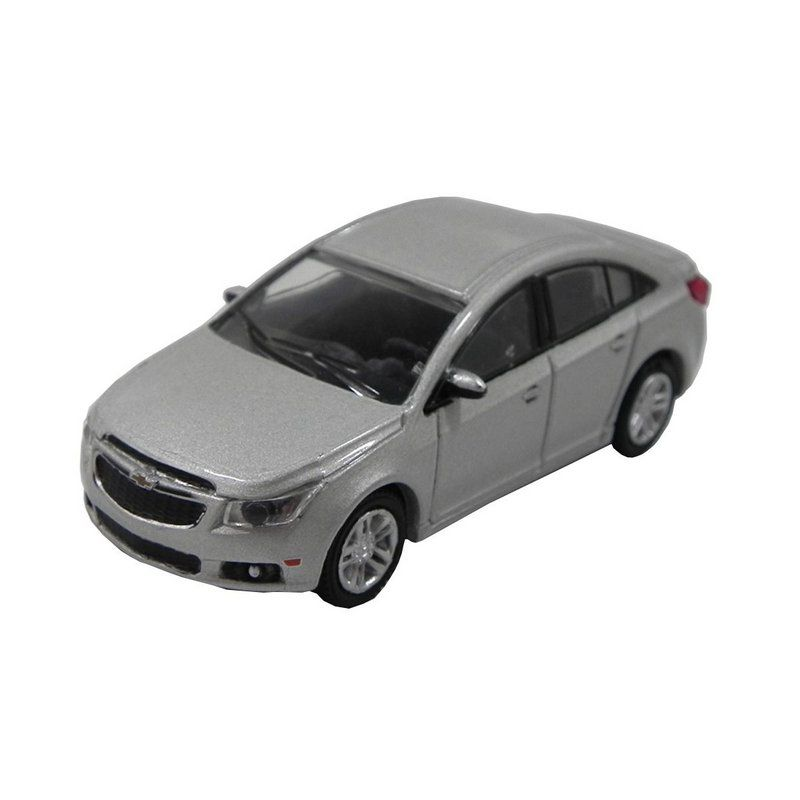 Miniatura Chevrolet Cruze 2013 Prata 1/64 California Collectibles