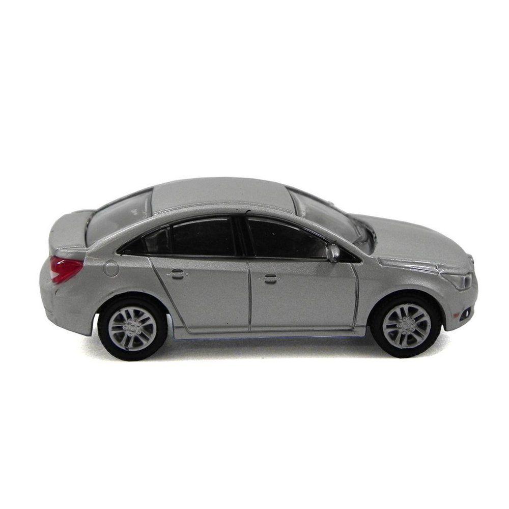 Miniatura Chevrolet Cruze 2013 Prata 1/64 California Collectibles