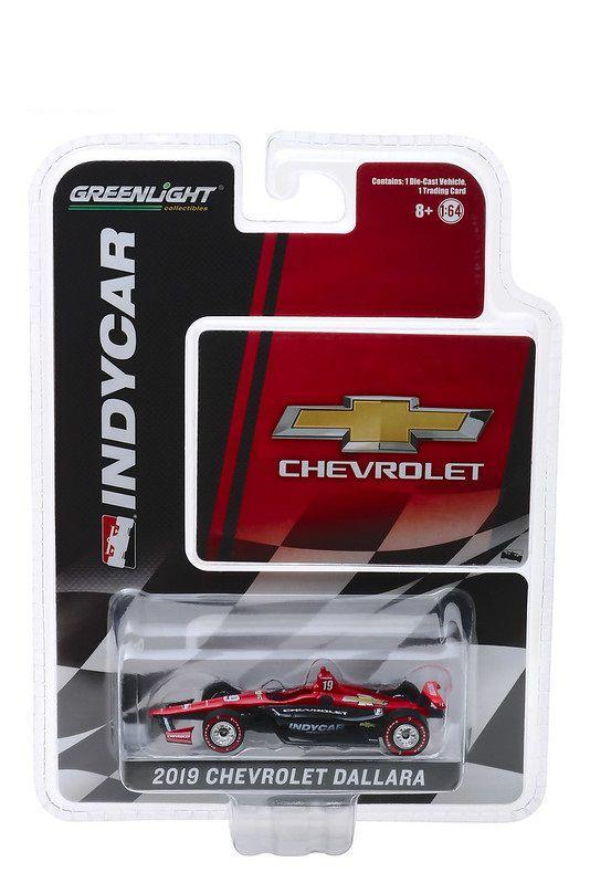 Miniatura Chevrolet Dallara 2019 Universal Aero Kit Indycar 1/64 Greenlight