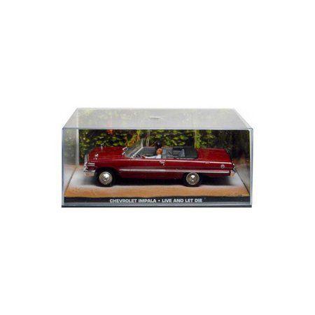 Miniatura Chevrolet Impala –  007 James Bond  Viva e deixe morrer 1/43 IXO