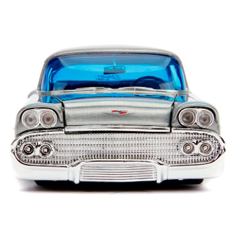 Miniatura Chevrolet Impala 1958 Streetflow 20 anos 1/24 Jada Toys