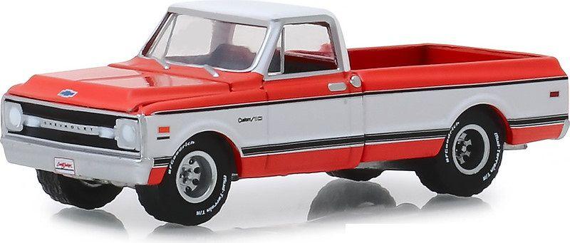 Miniatura Chevrolet K10 1969 Barret Jackson 1/64 Greenlight