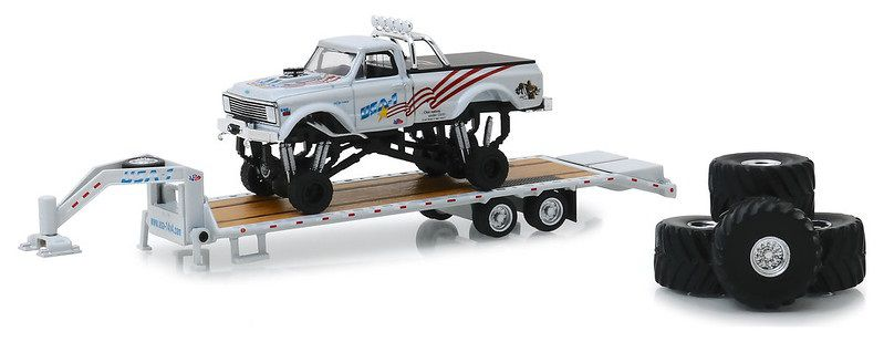Miniatura Chevrolet K-10 1970 Monster Truck Big Foot 1/64 Greenlight