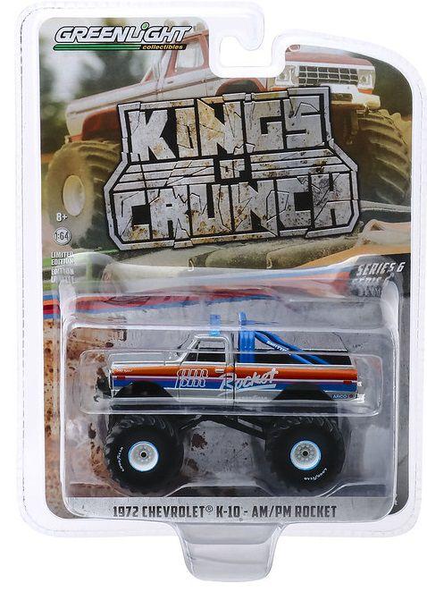 Miniatura Chevrolet K-10 1972 Monster Truck 1/64 Greenlight