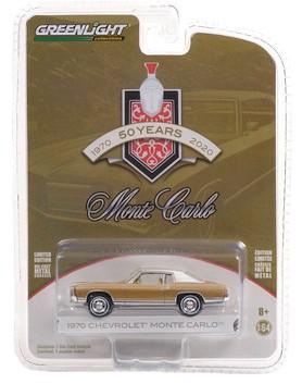 Miniatura Chevrolet Monte Carlo 1970 Anniversary Collection 1/64 Greenlight