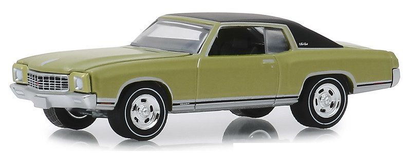Miniatura Chevrolet Monte Carlo SS 1971 GL Muscle 1/64 Greenlight