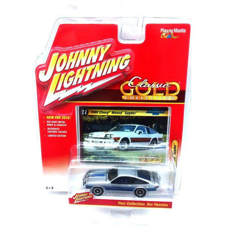 Miniatura Chevrolet Monza Spyder Classsic Gold Collection B 1/64 Johnny Lightning