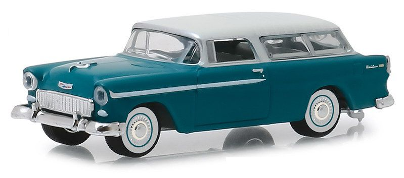 Miniatura Chevrolet Nomad 1955 Estate Wagons 1/64 Greenlight