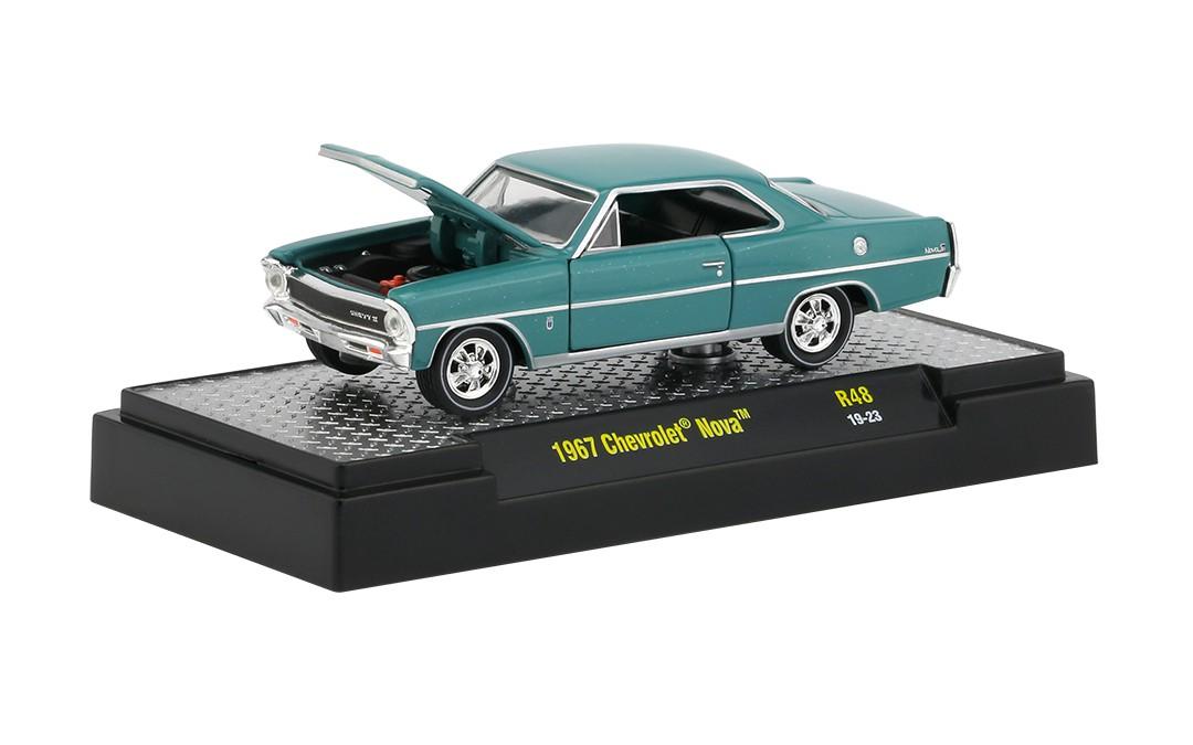 Miniatura Chevrolet Nova 1967 1/64 M2