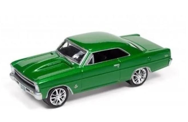 Miniatura Chevrolet Nova SS 1967 1/64 Johnny Lightning