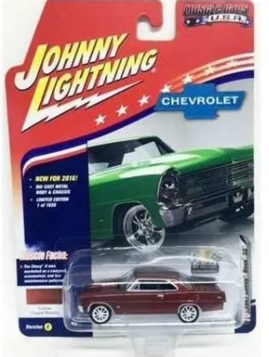 Miniatura Chevrolet Nova SS 1967 1/64 Johnny Lightning
