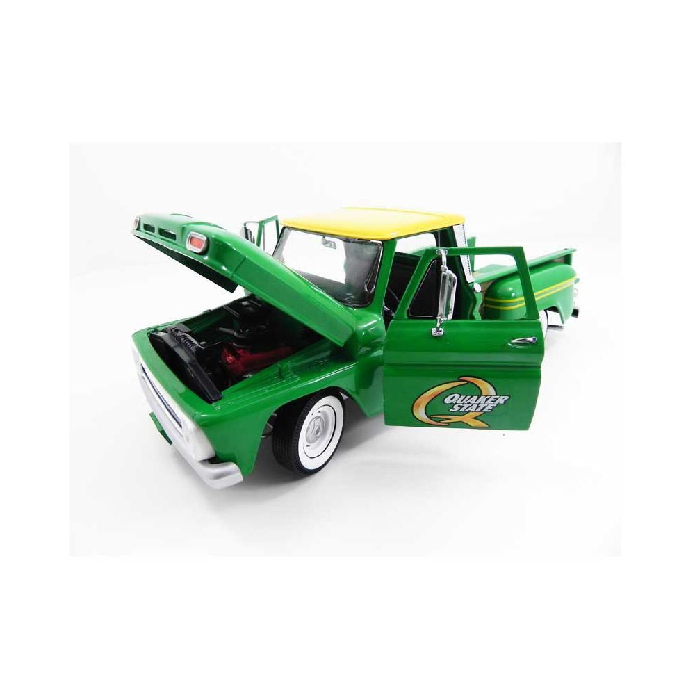 Miniatura Chevrolet Pick Up C-10 Quaker State 1965 1/18 Greenlight