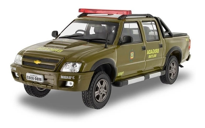 Miniatura Chevrolet S10 Brigada Militar 1/43 Salvat