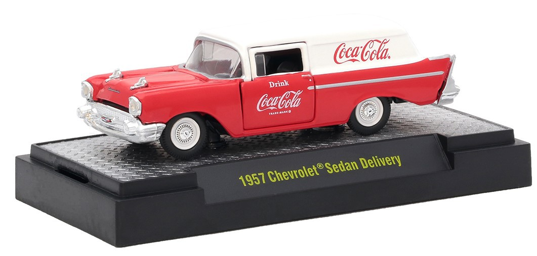 Miniatura Chevrolet Sedan Delivery 1957 Coca Cola 1/64 M2
