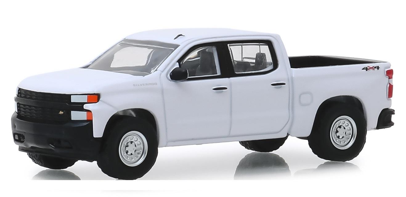 Miniatura Chevrolet Silverado 1500 2019 1/64 Greenlight