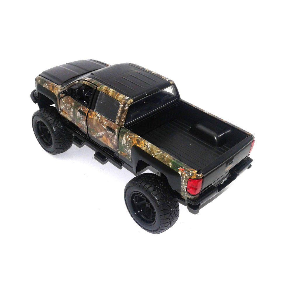 Miniatura Chevrolet Silverado 2014 com cachorro 1/24 Jada Toys