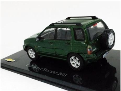 Miniatura Chevrolet Tracker 2001 1/43 Ixo