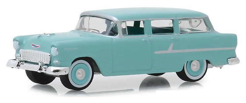 Miniatura Chevrolet Two Ten 1955 Estate Wagon 1/64 Greenlight