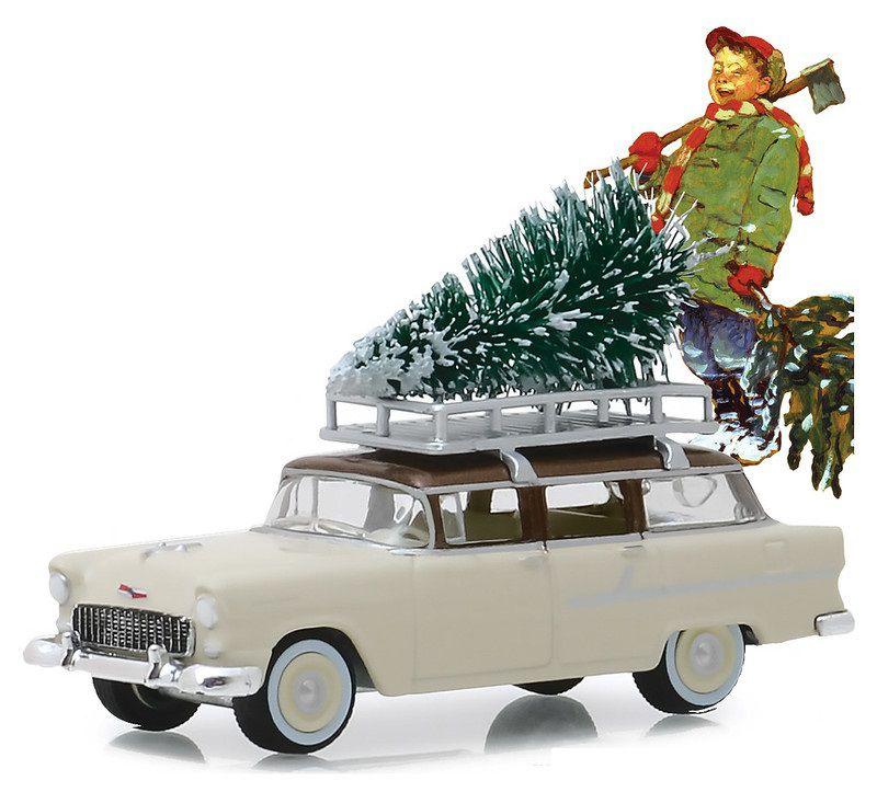 Miniatura Chevrolet Two-Ten 1955 1/64 Greenlight