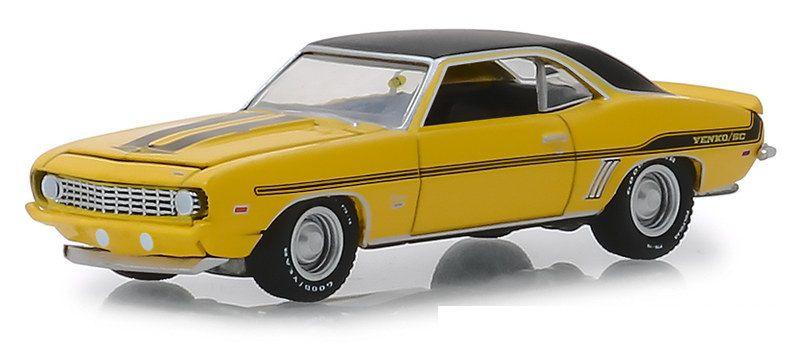 Miniatura Chevrolet Yenko Camaro 1969 Mecum Auctions 1/64 Greenlight