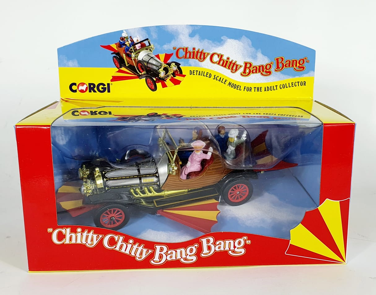 Miniatura Chitty Chitty Bang Bang Corgi
