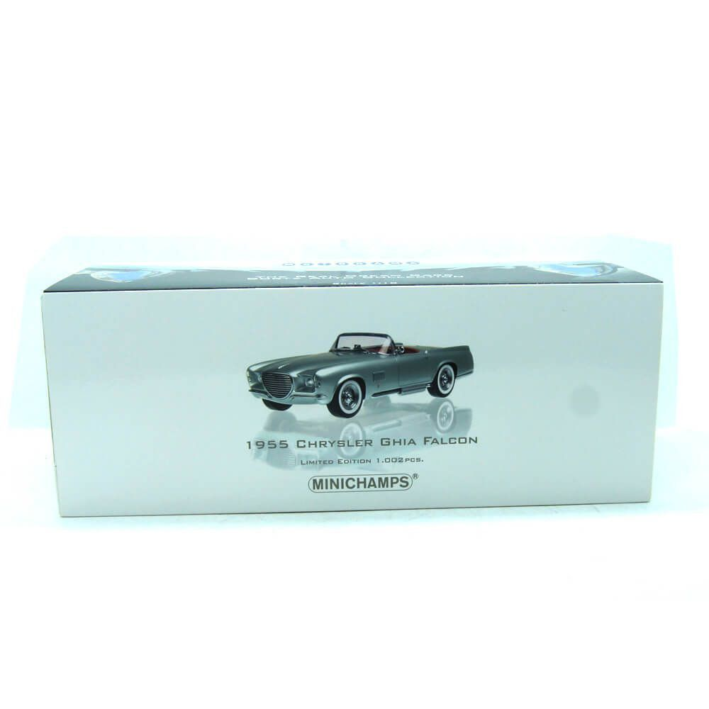 Miniatura Chrysler Falcon Ghia Spider 1955 1/18 Minichamps