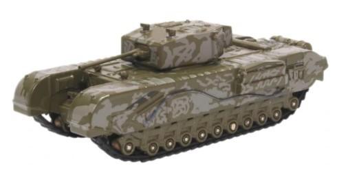 Miniatura Churchill Tank 142 RAC Tunisia 1/76 Oxford