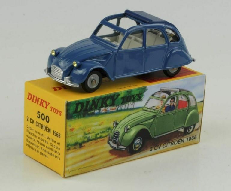 Miniatura Citroen 2 CV 1966 1/43 Dinky Toys