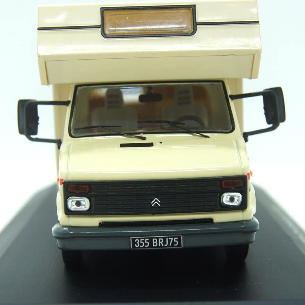Miniatura Citroen C25 Camper 1985 Com Bicicleta Motor Home 1/43 Ixo