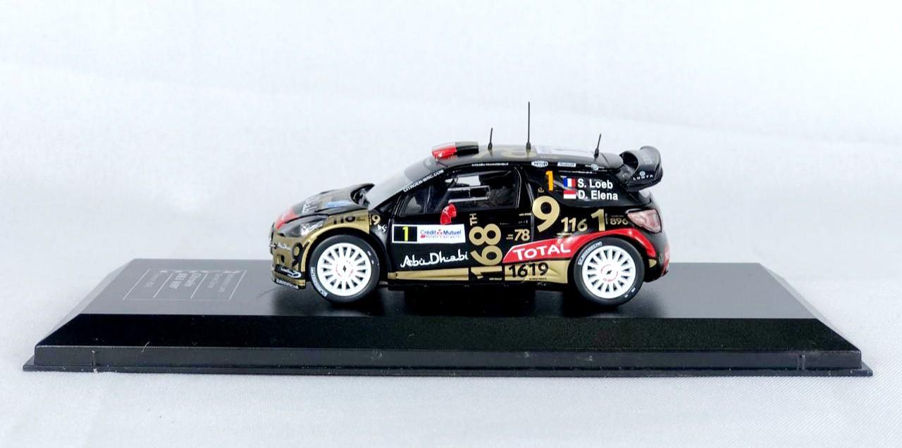 Miniatura Citroen DS3 WRC Rally 1/43 Ixo