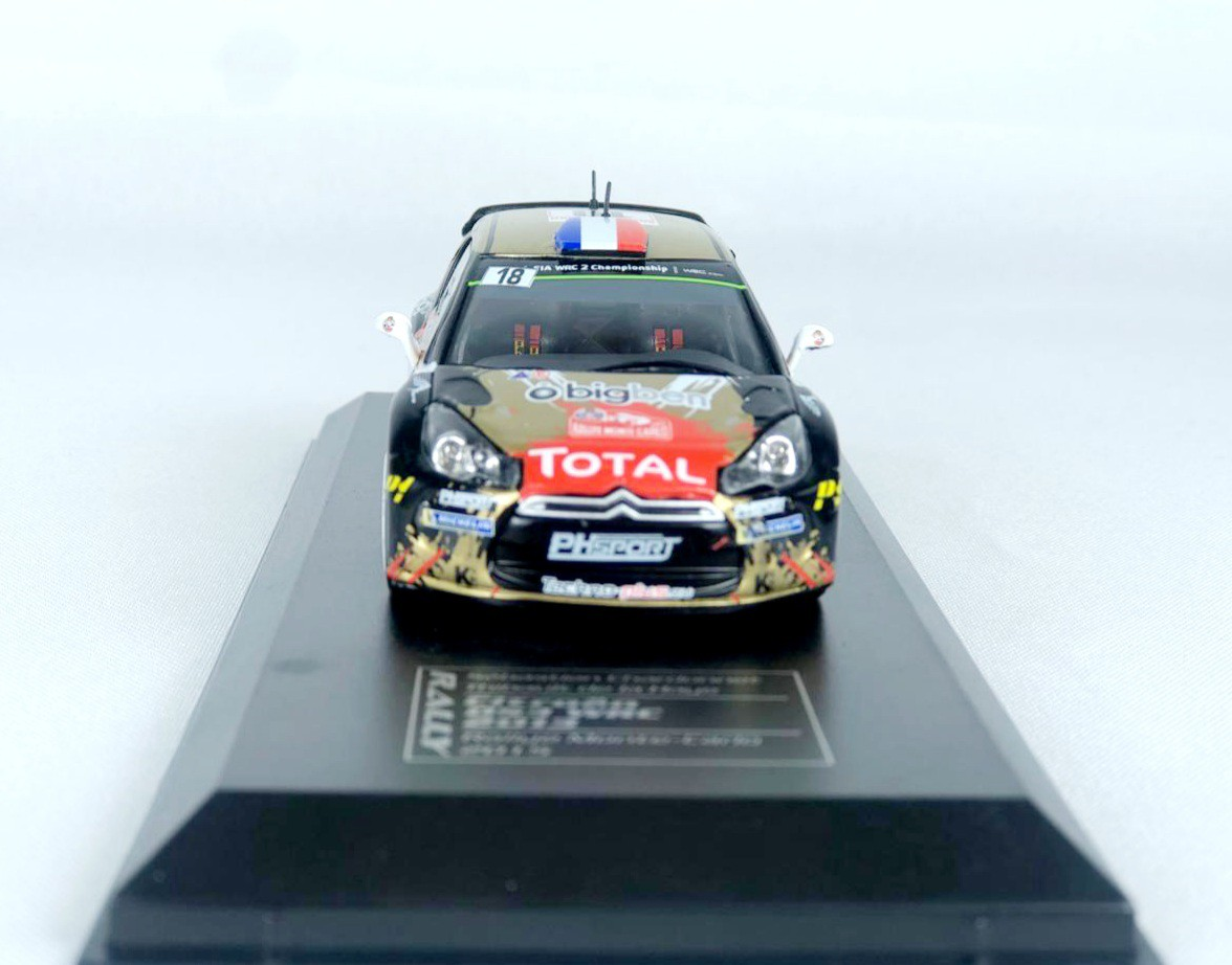 Miniatura Citroen DS3 WRC Rally 2015 1/43 Ixo