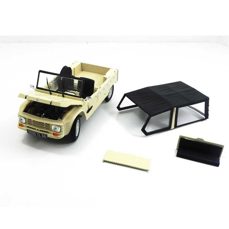 Miniatura Citroen DS Mehari 1983 1/18 Norev