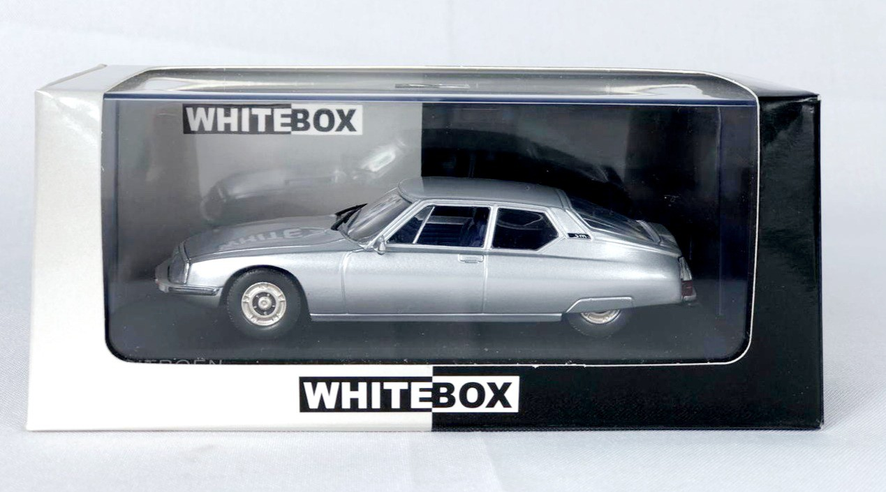 Miniatura Citroen SM 1970 1/43 Whitebox