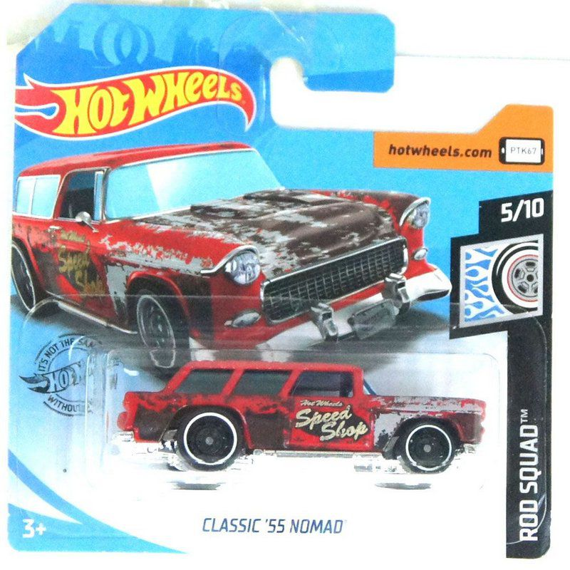 Miniatura Classic 1955 Nomad Rod Squad 164 Hot Wheels