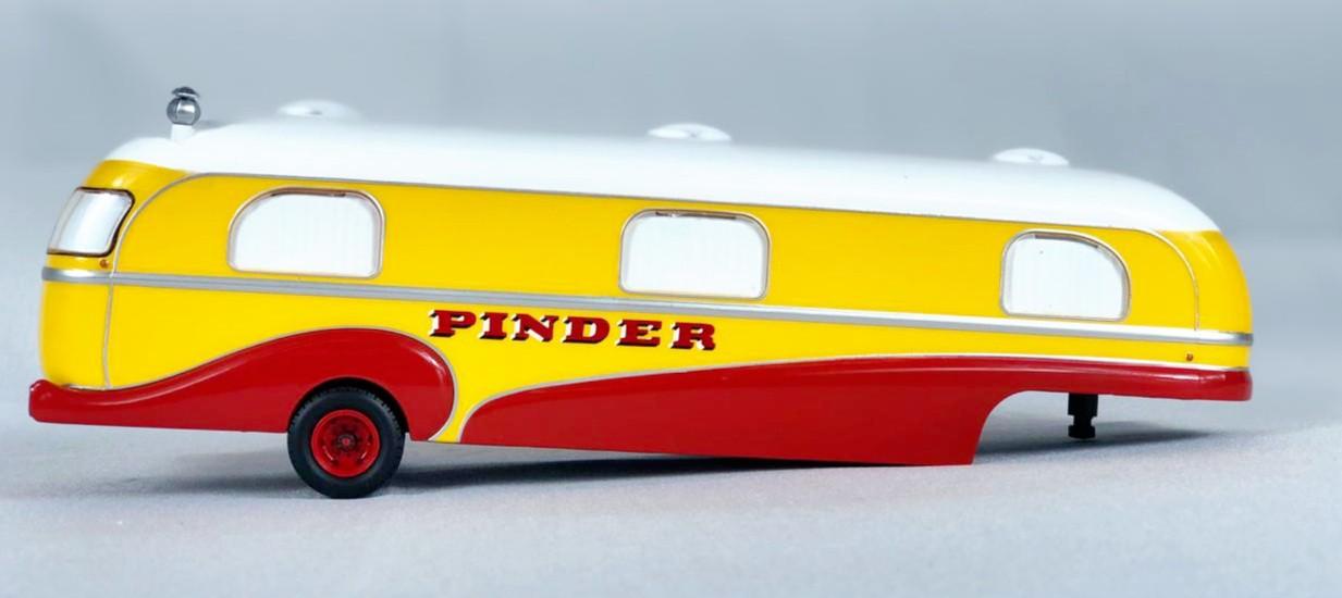 Miniatura Container Trailer Pinder Circus 1/43 Direkt Collections