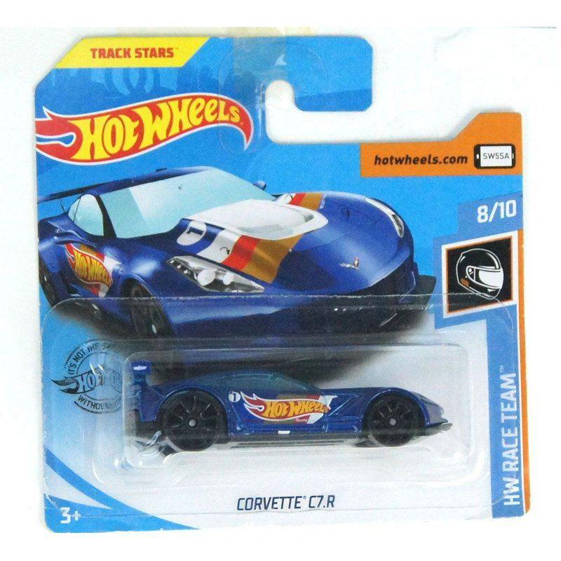 Miniatura Corvette C7.R HW Race Team 164 Hot Wheels