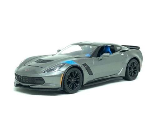 Miniatura Corvette Grand Sport 2017 Kit Em Metal 1/24 Maisto