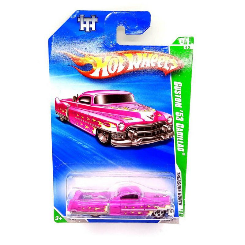 Miniatura Custom Cadillac 1953 T Hunt 2010 1/64 Hot Wheels