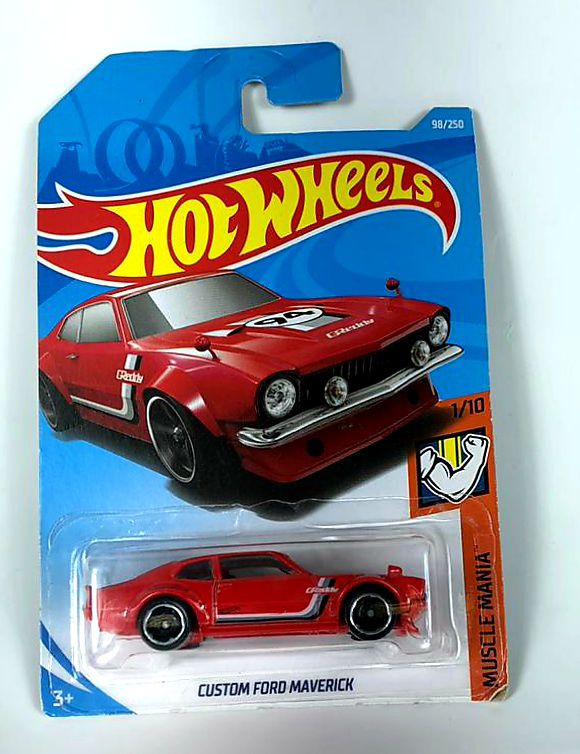 Miniatura Custom Ford Maverick 1/64 Hot Wheels
