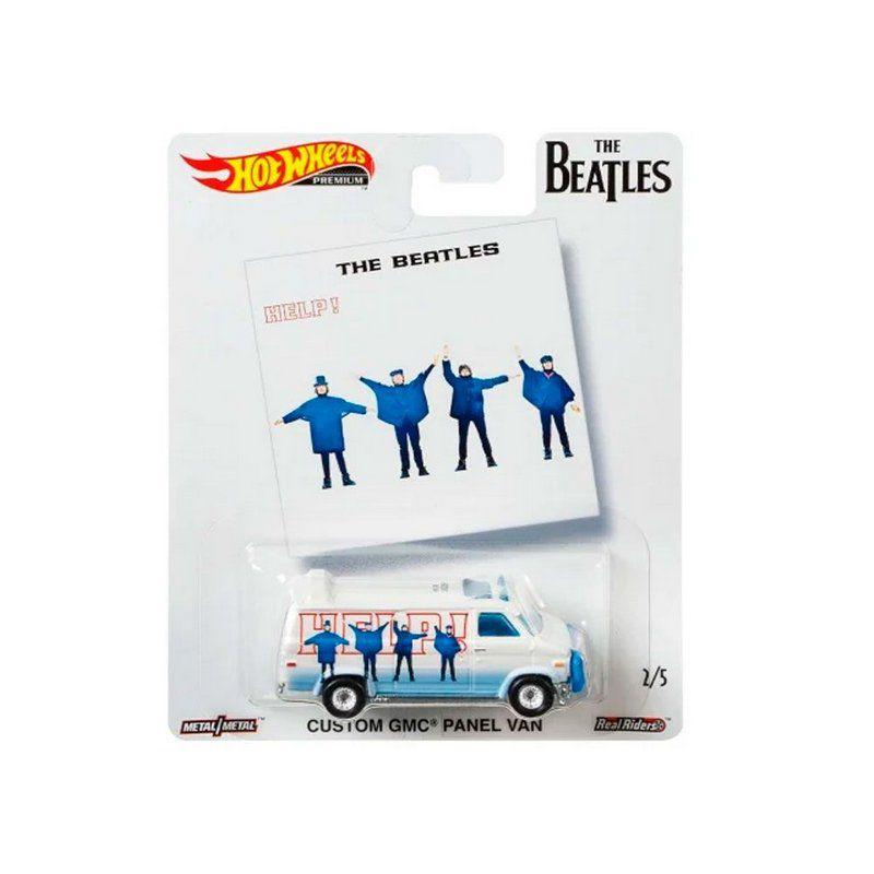 Miniatura Custom GMC Panel Van The Beatles 1/64 Hot Wheels
